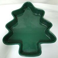 Chantal Stoneware Christmas Tree large Baking Casserole Mold Dish 2 quarts RARE