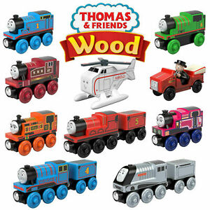 Fisher-Price Thomas & Friends Wood Engines Official Mattel Toy Trains