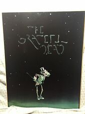 Rare The Grateful Dead Movie Poster On Board 1977 Jerry Garcia Uncle Sam
