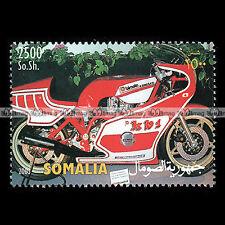 ★ BIMOTA KB1 (KAWASAKI Z 900 Z1/ T2 Z1000) ★ SOMALIA 2003 Timbre Moto Stamp #295