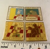 4 Little League Baseball PINs - CA D29 Trading Pin SET