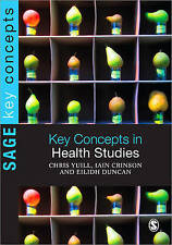 Key Concepts in Health Studies (SAGE Key Concepts series), Good Condition Book,