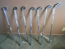 Dunlop Rebel Left Handed Golf Clubs. Graphite FGMF-05 shaft 7 irons 4 woods L/H