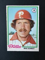 1978 O-Pee-Chee Set Break #225 Mike Schmidt HOF Philadelphia Phillies - NM/MT