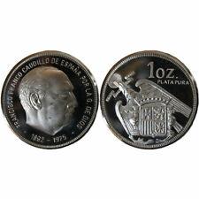 1 onza de plata - Francisco Franco Caudillo de España - 1892/1975