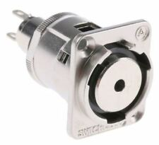 Switchcraft 3.5 mm Panel Mount Stereo Jack Adapter in XLR Housing