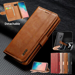 For Samsung Galaxy Note 9 Note 10 Pro Leather Wallet Flip Card Stand Case Cover