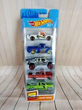 Hot Wheels HW Hot Trucks 5 Pack 2018 VW Caddy Pick Up 56 Ford Truck FXH46 T26