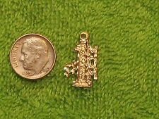 Vintage 14K Gold Pendant  #1 Mom Well Made Mother Charm 1.3 Grams Mom Mother