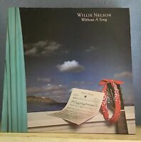 WILLIE NELSON Without A Song 1983 UK Vinyl LP EXCELLENT CONDITION