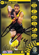 ✺Signed✺ 2013 RICHMOND TIGERS AFL Card BACHAR HOULI