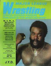 Mid South wrestling program Issue #95, 1984 JYD DiBiase Duggan Killer Khan Ladd