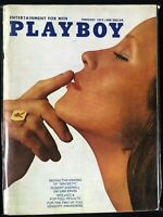 Playboy, magazine, Feb, 1972, P. J. Lansing, Vargas
