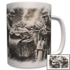 Wehrmachtsgespann R 75 Motorrad Wh Gespann Beiwagen DAK Foto Wk2  Tasse #6851
