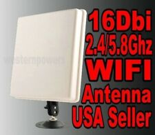 16dbi RP-SMA 2.4/5Ghz Router Wireless WIFI WLAN Directiona High Gain Antenna
