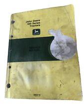 John Deere Service Manual Sm2019 for 420 Series Tractors