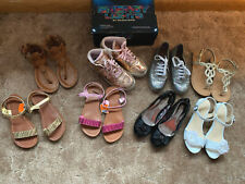 New listing Huge Lot Girls Shoes Sandals Skecher Energy Lights Sz 3.5 4 Youth spring summer
