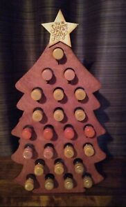 Adult Mini Wine bottle Advent Calendar 4 adults 24 days to Christmas - CHRISTMAS