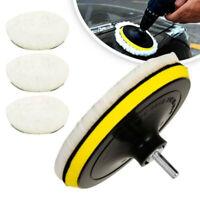 5pcs/Set Buffing Pad Polishing Mop Car Wheel Buffer Polisher Drill Attachment