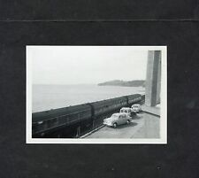 C1960's Original Photo of a Train on a Sea Front Railway Believed to be a Conway