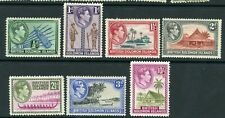 British Solomon Islands 1939 complete to 3d + 10/- MM