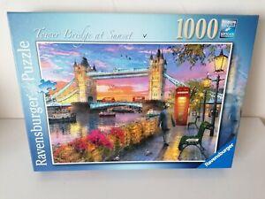 Ravensburger 1000 Piece jigsaw Puzzle, Tower Bridge At Sunset