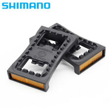 2PCS Shimano SM-PD22 M540 M520 SPD Cleat Flat Pedal Adapters Pair with Reflector
