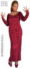 Neues AngebotDamen Burgund Midnight Vixen Verführerin Halloween Horror Kostüm Größe 10-14