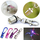 Dog Cat Pet Safety Night LED Flashing Light Flash Tag Lamp Lead Collar Pendant