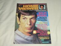 Home Viewer February 1985 Magazine Star Trek Leonard Nimoy Spock Kirk Shatner