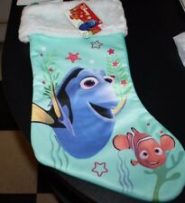 "New Dory Christmas Stocking 16"" Finding Nemo Disney  --JJX"