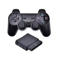 1x For Sony PS2 2.4G Wireless Twin Shock Game Controller Joystick zg