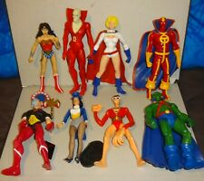 DC DIRECT action figure  loose JUSTICE LEAGUE OF AMERICA LOT