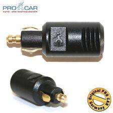 ProCar Normstecker 8A 12-24 Volt Stecker DIN EN ISO 4165 Normsteckdose Pro CaR