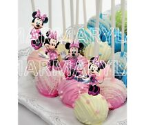 Minnie Mouse Cake Pops Toppers, Cupcakes Toppers and Cake Topper - PRINTABLE