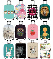 """Luggage Suitcase Dustproof Elastic Thicker Case Anti-dirty 18""""-32"""" Trolley Cover"""