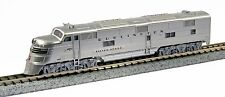 """KATO N GAUGE 176-5401 EFA CB&Q 9910A """"SILVER SPEED"""" from Mid-America Naperville"""