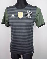 GERMANY 2016 Shirt Mens Small Reversible Away Trikot Mallot Jersey S Deutschland