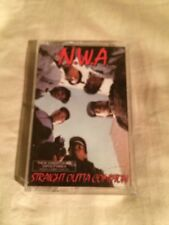 NWA N.W.A. Straight Outta Compton Hip Hop Cassette OG Release 1988