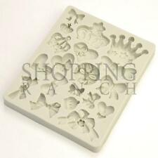 Regal Princess Theme Silicone Mould Fondant Chocolate Cake Present Topper