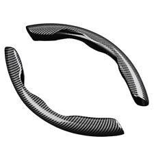 2pcs Carbon Fiber Car Steering Wheel Booster Cover Non Slip Accessories Fits Suzuki Equator