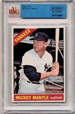 1966 Topps #50 MICKEY MANTLE Yankees BVG Altered