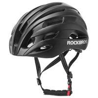 ROCKBROS Cycling MTB Road Bike Ultralight Helmet Integrally-molded 57-62cm Black