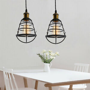 Retro Ceiling Hanging Lamp Shade Light Cover Pendant Chandelier Lampshade
