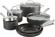 Calphalon Classic 10 Pc Cookware Set | Non Stick | No Boil Over | Hard Anodized