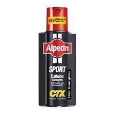 Alpecin Sport Caffeine Shampoo CTX for Hair Loss Treatment 250ml- pack of 3