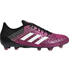 adidas Performance Mens Predator Malice Control Firm Ground Rugby Boots Pink 13