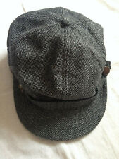 OBEY MEN'S WOOL WINTER GRAY MILITARY HAT SMALL-MEDIUM  SIZE