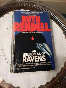 An Unkindness of Ravens, 1993 Paperback Edition by Ruth Rendell