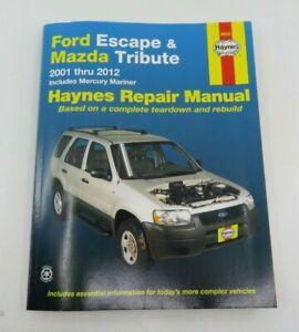 Repair Manuals Literature For 2004 Ford Escape For Sale Ebay
